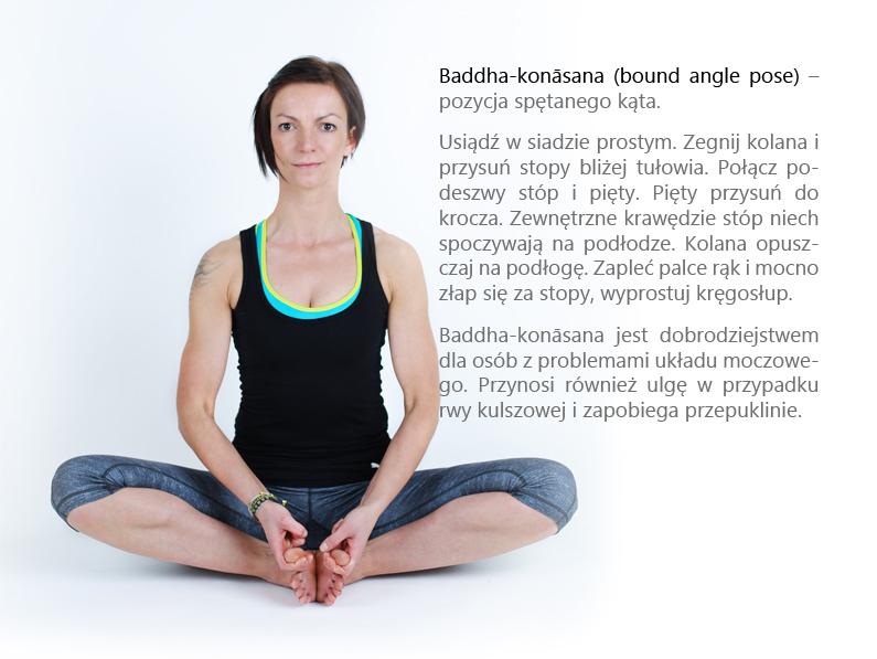 14. Baddha konasana