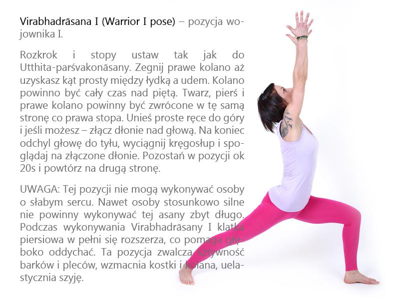 6. Virabhadrasana I